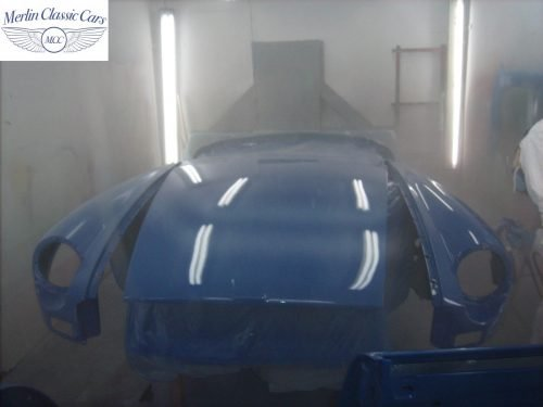 MGB Roadster New Bodyshell Bare Metal Paintwork 36
