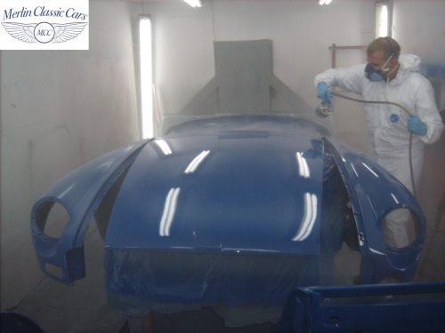 MGB Roadster New Bodyshell Bare Metal Paintwork 37