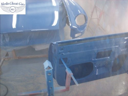 MGB Roadster New Bodyshell Bare Metal Paintwork 39
