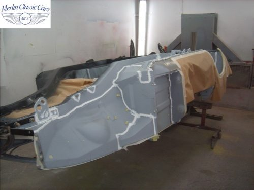 MGB Roadster New Bodyshell Bare Metal Paintwork 4