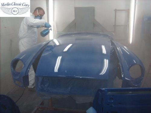 MGB Roadster New Bodyshell Bare Metal Paintwork 40
