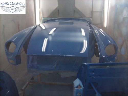 MGB Roadster New Bodyshell Bare Metal Paintwork 41