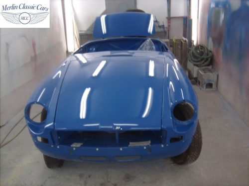 MGB Roadster New Bodyshell Bare Metal Paintwork 48