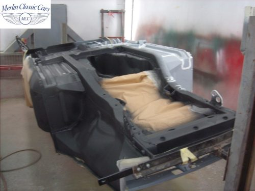 MGB Roadster New Bodyshell Bare Metal Paintwork 5