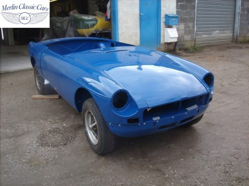 MGB Roadster New Bodyshell Bare Metal Paintwork 50