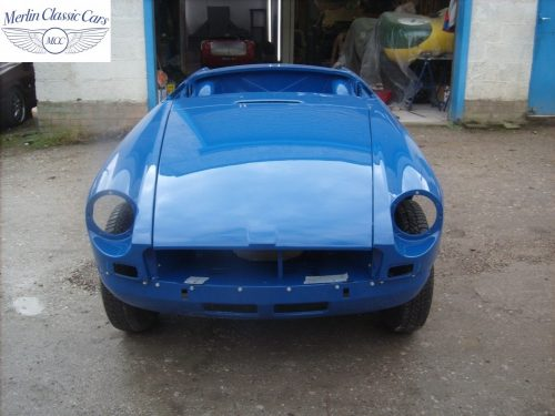 MGB Roadster New Bodyshell Bare Metal Paintwork 51