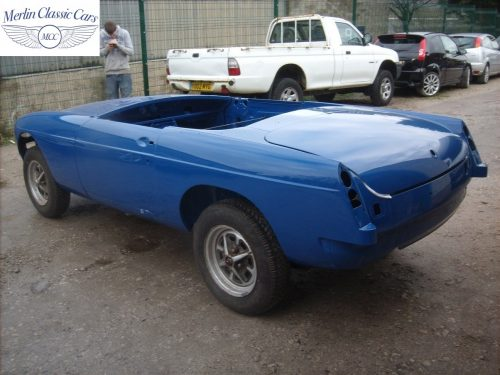 MGB Roadster New Bodyshell Bare Metal Paintwork 54