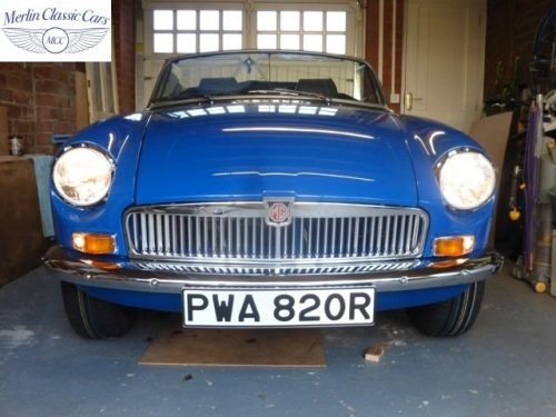 MGB Roadster New Bodyshell Bare Metal Paintwork (56)