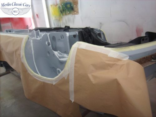 MGB Roadster New Bodyshell Bare Metal Paintwork 7