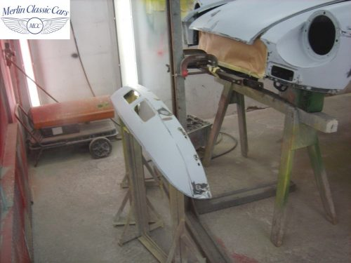 MGB Roadster New Bodyshell Bare Metal Paintwork 8