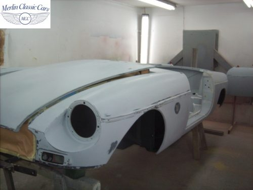 MGB Roadster New Bodyshell Bare Metal Paintwork 9