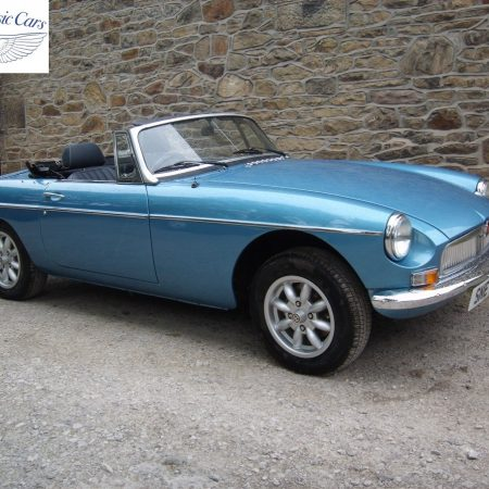 MGB Roadster Riviera Silver Blue Restored & Sold By Merlin 3