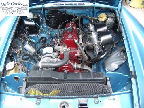 MGB Roadster Riviera Silver Blue Restored & Sold By Merlin 7
