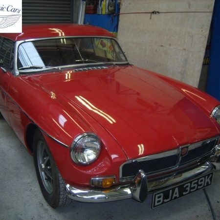 MGB Roadster With Hard Top 1