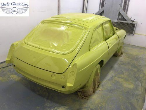 MGB V8 Restoration 1