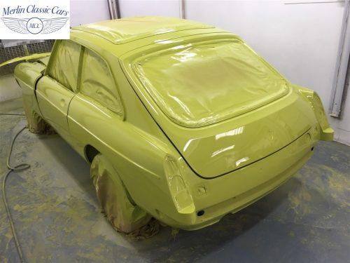 MGB V8 Restoration 2