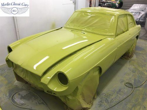 MGB V8 Restoration 3