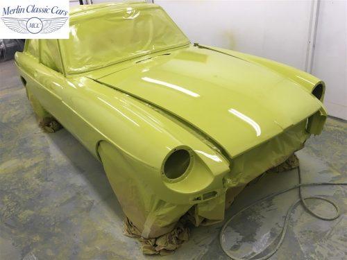 MGB V8 Restoration 4
