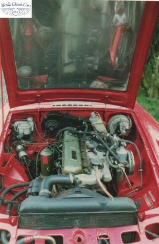 MGC GT Polished Aluminium Bonnet