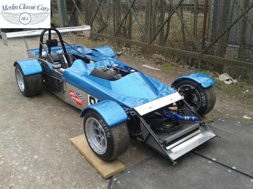 Mallock Race Car Paintwork & Later Colour Change Photos 1