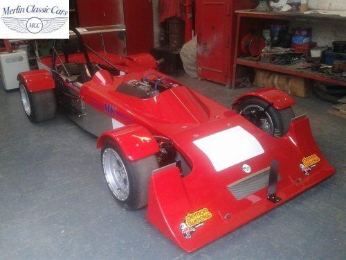 Mallock Race Car Paintwork & Later Colour Change Photos (3)