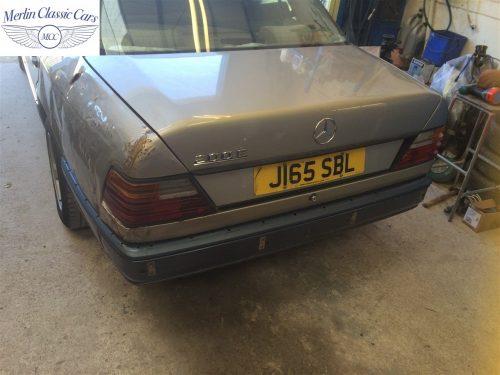 Mercedes 300E Accident Damage Repair Photos 1