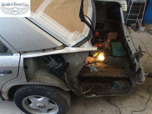 Mercedes 300E Accident Damage Repair Photos 4