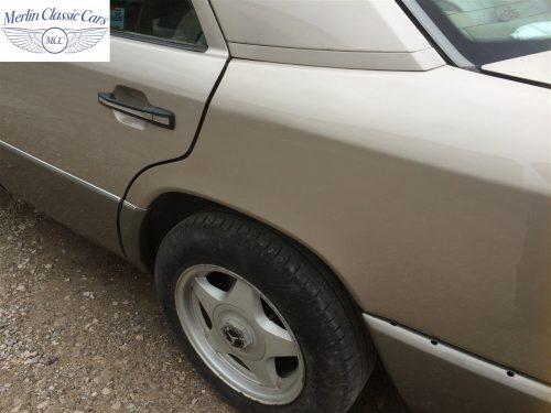Mercedes 300E Accident Damage Repair Photos 7