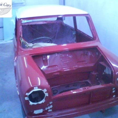 Mini Cooper Bare Metal Respray (10)