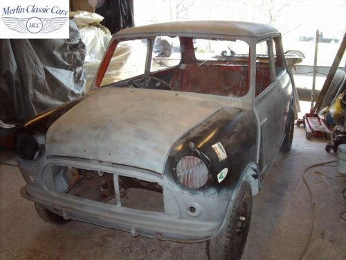 Mini Cooper Bare Metal Respray (11)