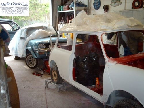 Mini Cooper Bare Metal Respray (8)