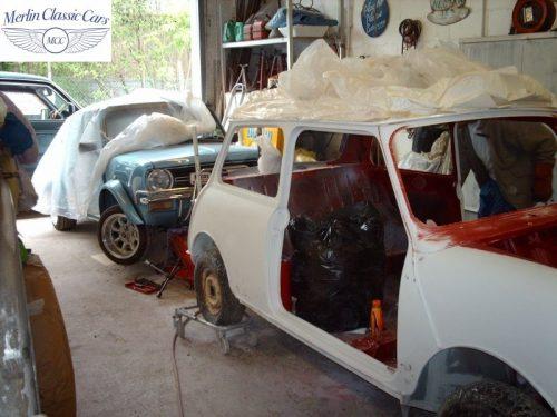 Mini Cooper Bare Metal Respray (8)