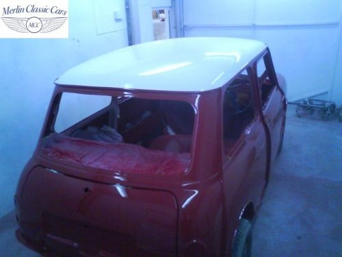 Mini Cooper Bare Metal Respray (9)