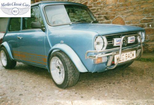 Mini Restoration Photos 1275 GT 2