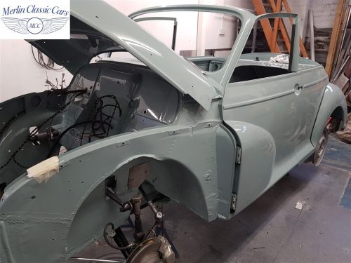 Morris Minor Convertible Restoration 10