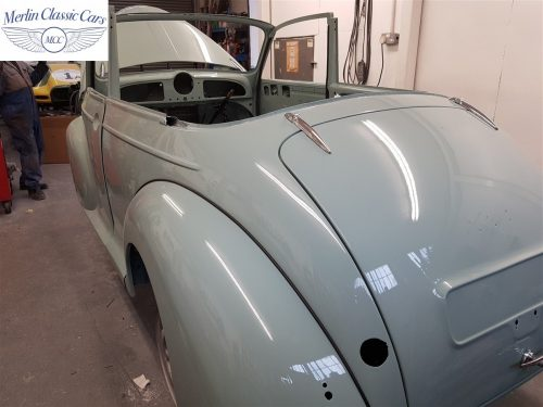 Morris Minor Convertible Restoration 11