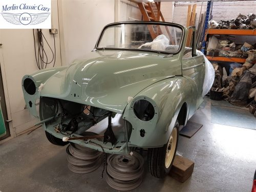 Morris Minor Convertible Restoration 13