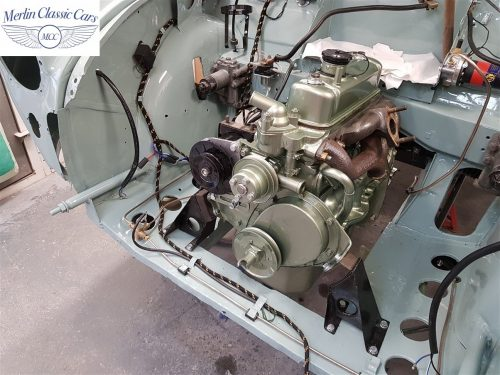 Morris Minor Convertible Restoration 14