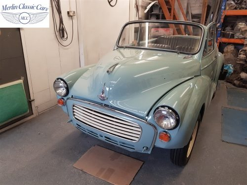 Morris Minor Convertible Restoration 17