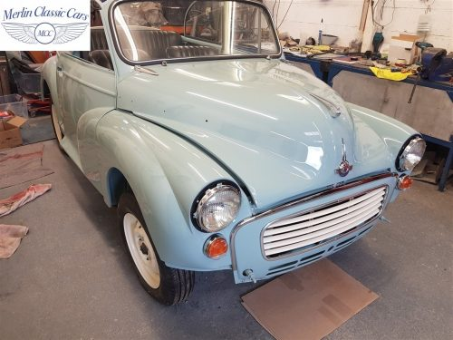 Morris Minor Convertible Restoration 18