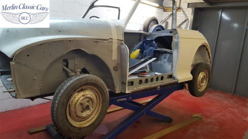Morris Minor Convertible Restoration 2