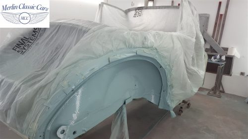 Morris Minor Convertible Restoration 3