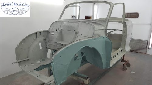 Morris Minor Convertible Restoration 4
