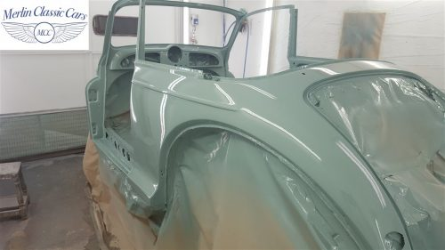 Morris Minor Convertible Restoration 6