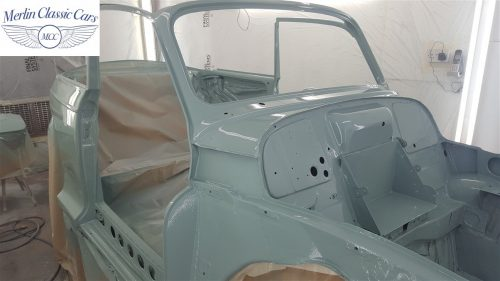 Morris Minor Convertible Restoration 7