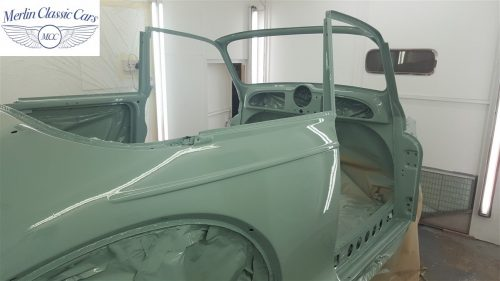 Morris Minor Convertible Restoration 8