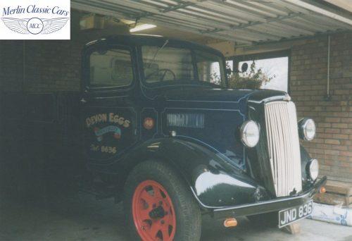 Morris Pickup Truck Restoration Photos Devon Eggs 4