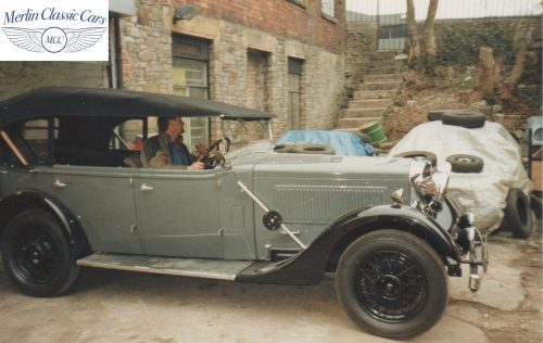 Morris Showcar For Earl's Court Restoration Photos 1934 Only One Of It's Kind (3)