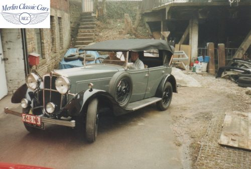 Morris Showcar For Earl's Court Restoration Photos 1934 Only One Of It's Kind (4)