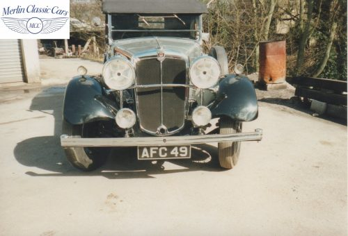 Morris Showcar For Earl's Court Restoration Photos 1934 Only One Of It's Kind (5)